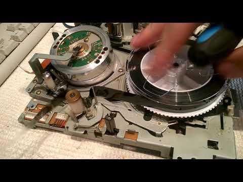 SONY SLV-X711 профилактика и ремонт часть 2