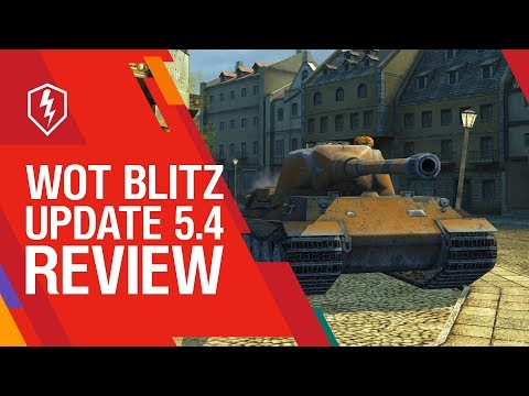 World of Tanks Blitz :: Update 5 4