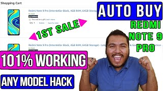 Redmi Note 9 Pro Flash Sale AUTO BUY TRICK⚡ | 101% WORKING | ANY REDMI NOTE 9 PRO Model BUY 1ST Sale