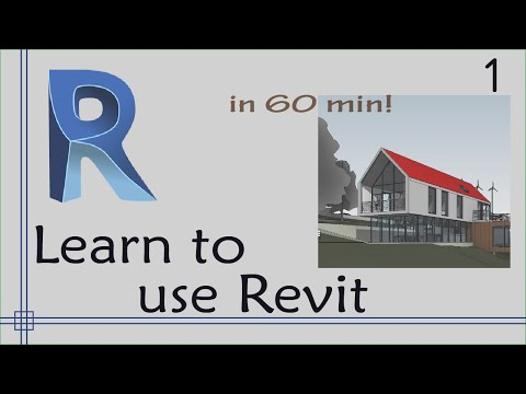 Revit - Complete Tutorial for Beginners - Learn to use Revit in 60 minutes - Part 1