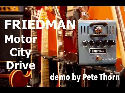 FRIEDMAN Motor City Drive Kytarový efekt