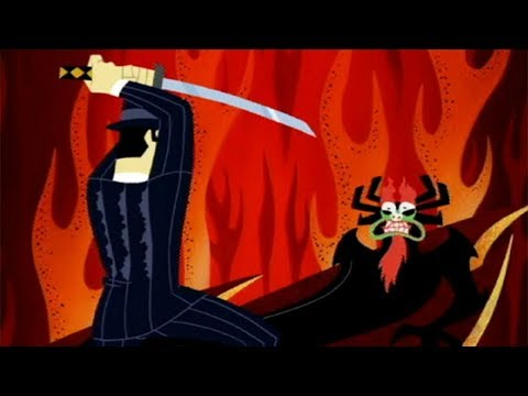 Samurai Jack - Samurai Jack vs Aku (Jack and the Gangsters)
