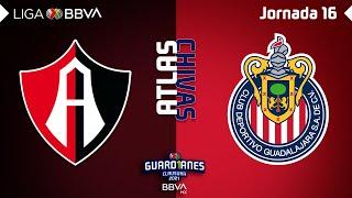 Resumen | Atlas vs Chivas | LIGA BBVA MX - Clausura 2021 - Jornada 16 |