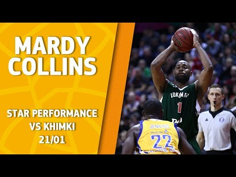 Star Performance. Mardy Collins vs Khimki – 22 pts & career high 7 reb, 10 ast and 31 eff!