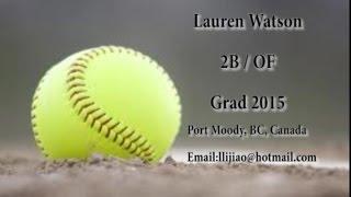 Lauren Watson College Video