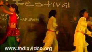 A folk dance from Maharashtra