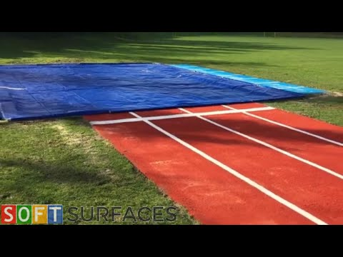 Multisport Long Jump with Practice Lane Install in Leicester, Leicestershire | Synthetic Long Jump