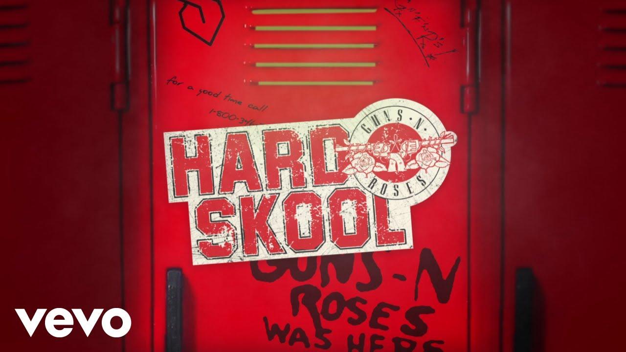 """Los Guns N' Roses Lanzaron otra canción  """"Hard Skool"""", adelantando el próximo disco"""