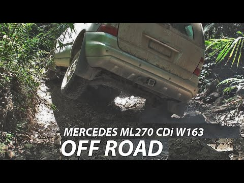 Mercedes Benz M-Class ML270 W163 Off Road. Tires - BFGoodrich All-Terrain T/A KO2