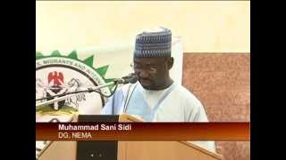 President Jonathan Salutes Humanitarian Workers