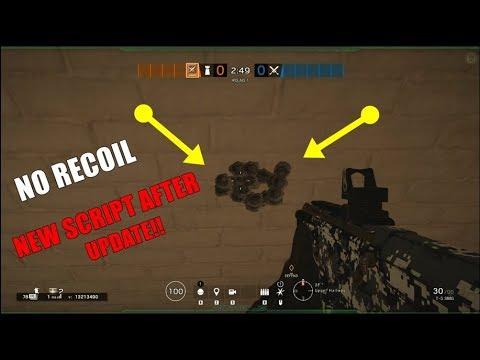 Rainbow Six Siege - Script Pack - No Recoil, Rapid Fire, Quick Lean
