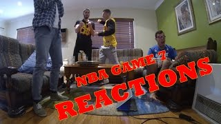 NBA FINALS GAME 7 REACTIONS!!