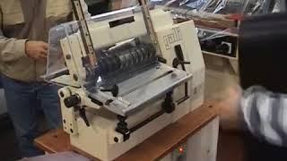 Машина для нарезки кожи на ремни и полосы Galli TS 301 LX