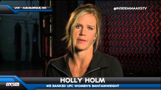 Holly Holm Doesn't Expect to Miss Much Time w/ Herniated Disc