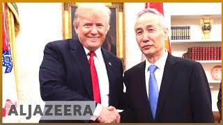 🇺🇸 🇨🇳 US, China launch trade talks to avert tariff war | Al Jazeera English - Video Youtube