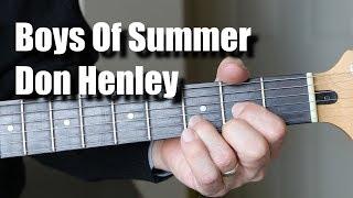 Boys Of Summer Guitar Lesson