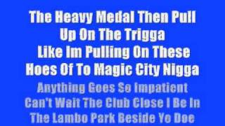 Akon Ft T-pain - Who The Fuck Is That (Lyrics)