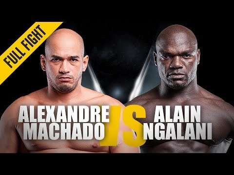 ONE: Full Fight | Alexandre Machado vs. Alain Ngalani | Grappling Showcase | August 2016