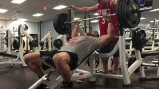 subscribers Cade Zook – 8 Days out Chest Training in Route to Pittsburg