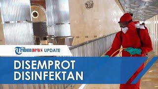 Masjid Istiqlal dan Gereja Katredal Disemprot Cairan Disinfektan Jelang New Normal