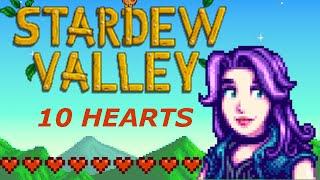 'Stardew Valley' - Abigail: Ten Hearts Event