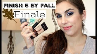Finish 5 By Fall FINALE | Project Panning Challenge | Katie Marie