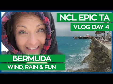 No Sun In Bermuda | Transatlantic Cruise Vlog Day 04