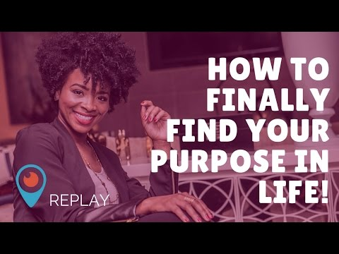 How to Finally Find Your Purpose in Life (Mentor Motivation Monday)...