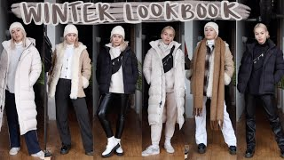 WINTER CASUAL OUTFIT IDEAS | how to layer for freezing cold