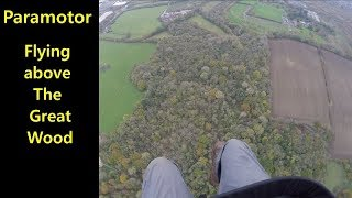 Paramotor Flight to Parkland Nil wind take off and landing practice | Parajet Maverick