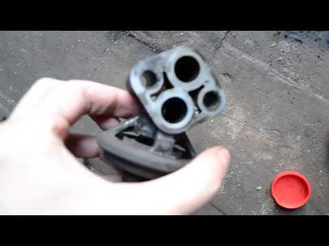 Чистим клапан EGR Lancer 9