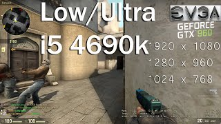 CSGO FPS Test / GTX 970 / i5 4590 / Low Settings - Самые лучшие видео