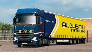 ETS2 1 35 ProMods 2 41 Iveco Hi-Way Calais - Duisburg