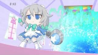 Sakuya Izayoi  - (Touhou Project) - 【Touhou】Magical Maid☆Sakuya-chan VS Miracle★Sanae-chan 【東方 AQUASTYLE】