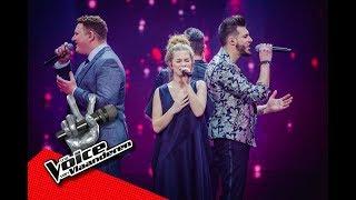De finalisten zingen Free Fallin