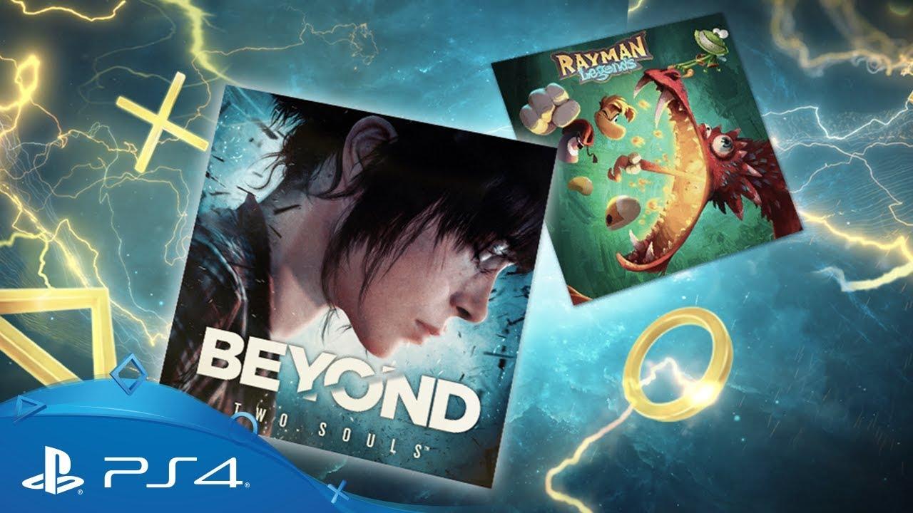 Ecco i giochi del mese di PS Plus: Beyond: Due Anime e Rayman Legends