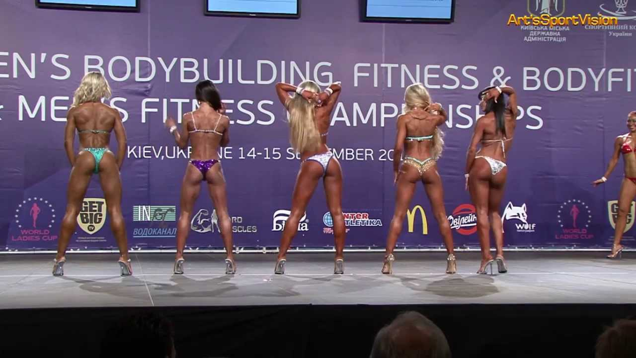 2013 World IFBB Women's BIKINI FITNESS up to 158 cm – FULL