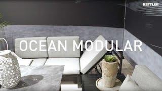 Lounge Ocean Modular Endteil links Alu anthrazit