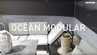Lounge Ocean Modular Beistelltisch Alu anthrazit