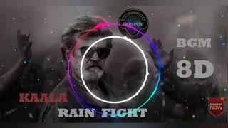 Kaala BGM | 8D Audio || Bass Boosted| | Rain Fight Theme Music | Santhosh Narayanan
