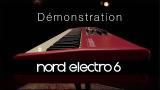 Nord Electro 6D 73 - Video