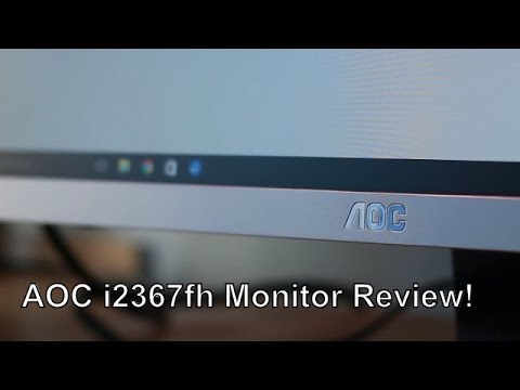 AOC i2367fh IPS Monitor Review! | InfoCannon