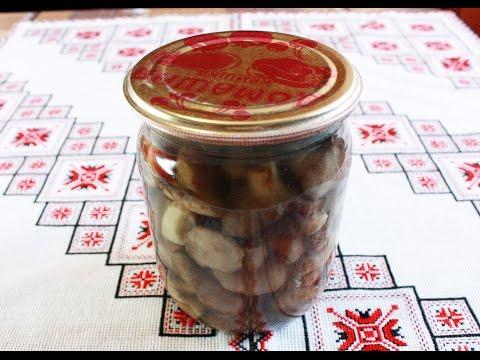 Заготовки на зиму Маринованные грибы рецепт Как мариновать грибы Как варить грибы Мариновані гриби