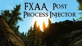 Skyrim Mod Comparison - FXAA Post Process Injector Presets