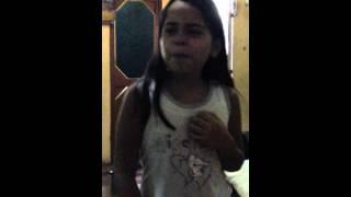 Karla cantando /Ha Hash/ perdon perdon