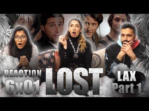 Lost - 6x1 LA X Part 1 - Reaction