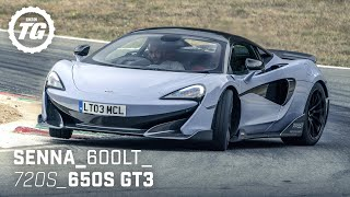[Top Gear] Chris Harris Drives... the Best of McLaren: Senna, 600LT, 720S, 650S GT3