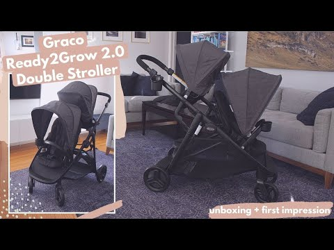 Graco Ready2Grow 2.0 Double Stroller | Unboxing + First Impression