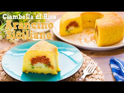 Ciambella Arancino Siciliano - Ricetta Timballo di Riso Filante al Forno - 55Winston55