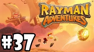 Rayman Adventures (Adventure 89 - 90) iOS / Android Gameplay Video - Part 37